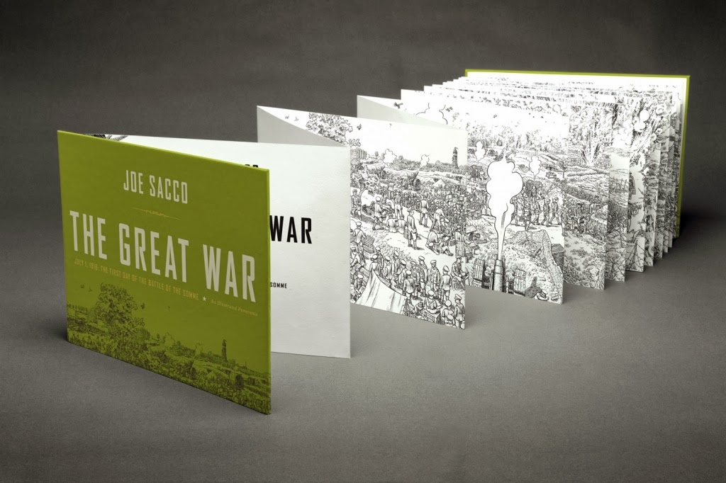 The-Great-War-by-Joe-Sacco-book