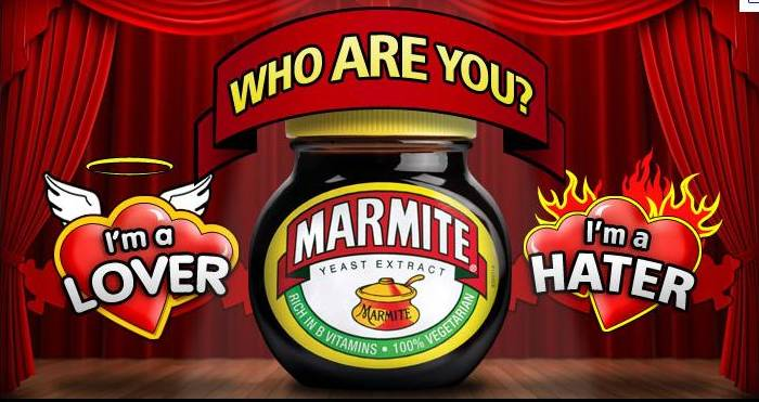marmite love or hate